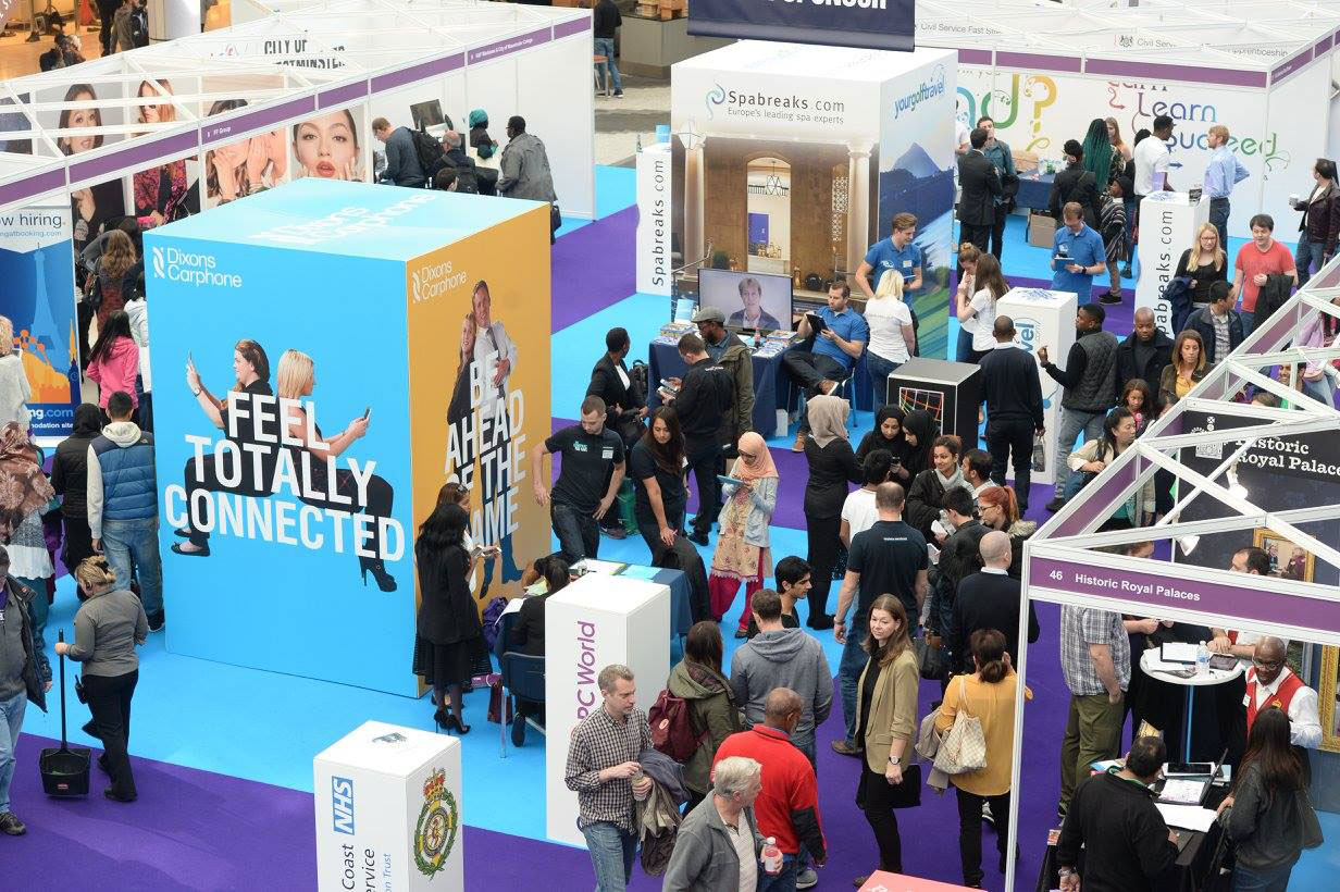 Exhibition Stand Fitter Jobs London : London job shows js media