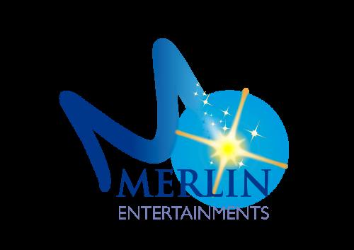 Merlin logo reversed